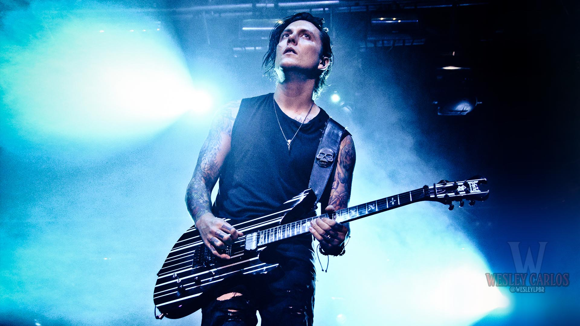 Avenged Sevenfold Synyster Gates 2015 Hair Is Our Crown